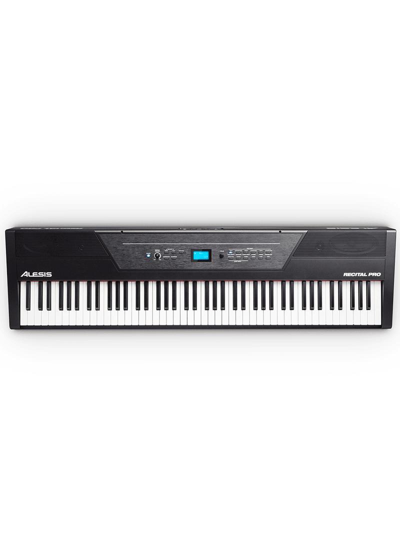ALESIS Recital Pro Digital Piano 88 Teclas 1 https://www.musicheadstore.com/wp-content/uploads/2021/03/ALESIS-Recital-Pro-Digital-Piano-88-Teclas-1.png