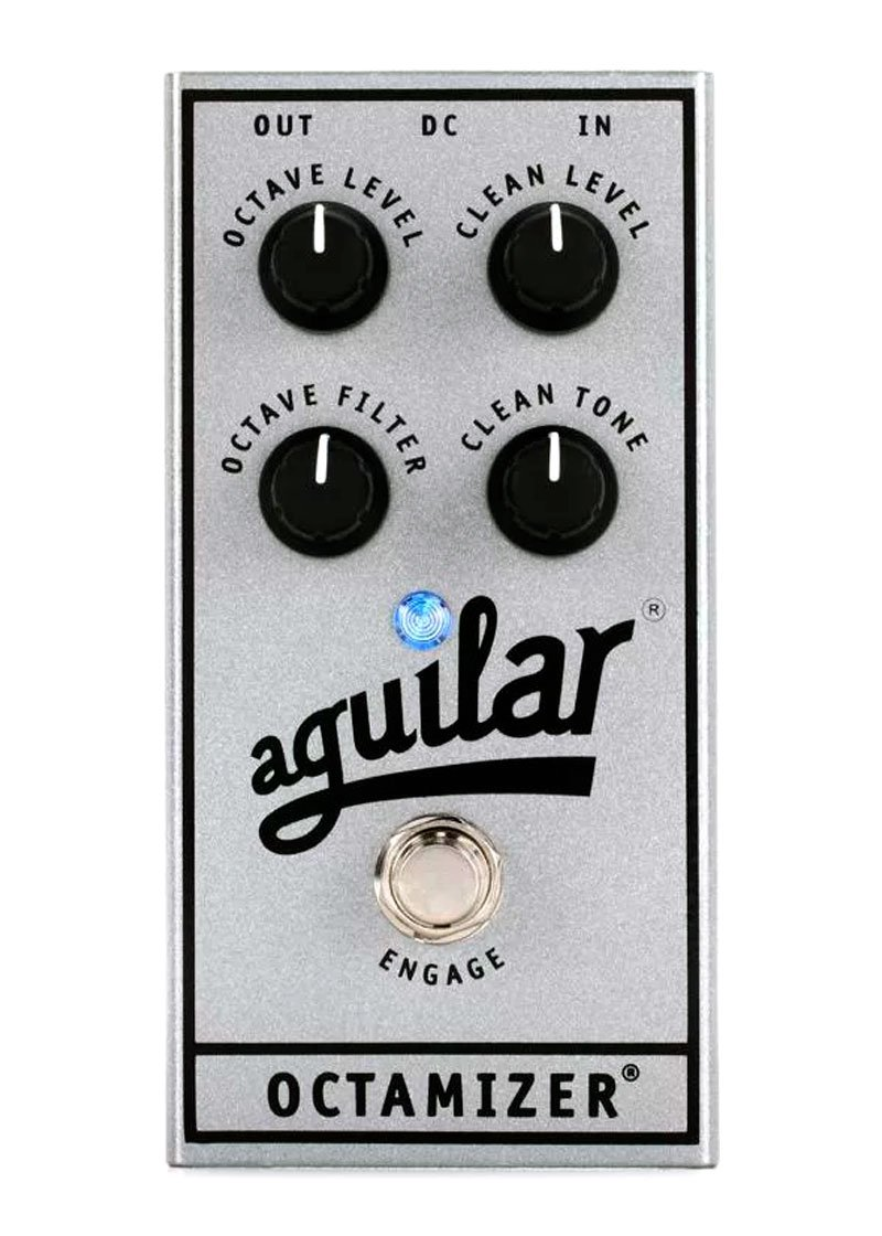 Aguilar Octamizer Analog Octave Bass Effects Pedal 25TH 1 https://www.musicheadstore.com/wp-content/uploads/2021/03/Aguilar-Octamizer-Analog-Octave-Bass-Effects-Pedal-25TH-1.jpg