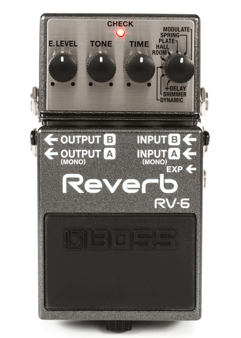 Boss RV 6 Pedal Reverb 1 https://www.musicheadstore.com/wp-content/uploads/2021/03/Boss-RV-6-Pedal-Reverb-1.png