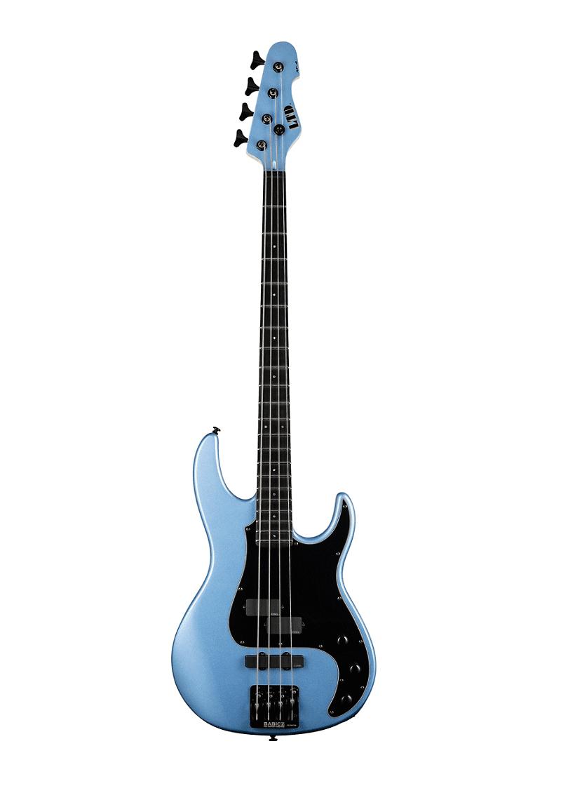 ESP LTD AP 4 Electric Bass Pelham Blue Black Pickguard 1 https://www.musicheadstore.com/wp-content/uploads/2021/03/ESP-LTD-AP-4-Electric-Bass-Pelham-Blue-Black-Pickguard-1.png