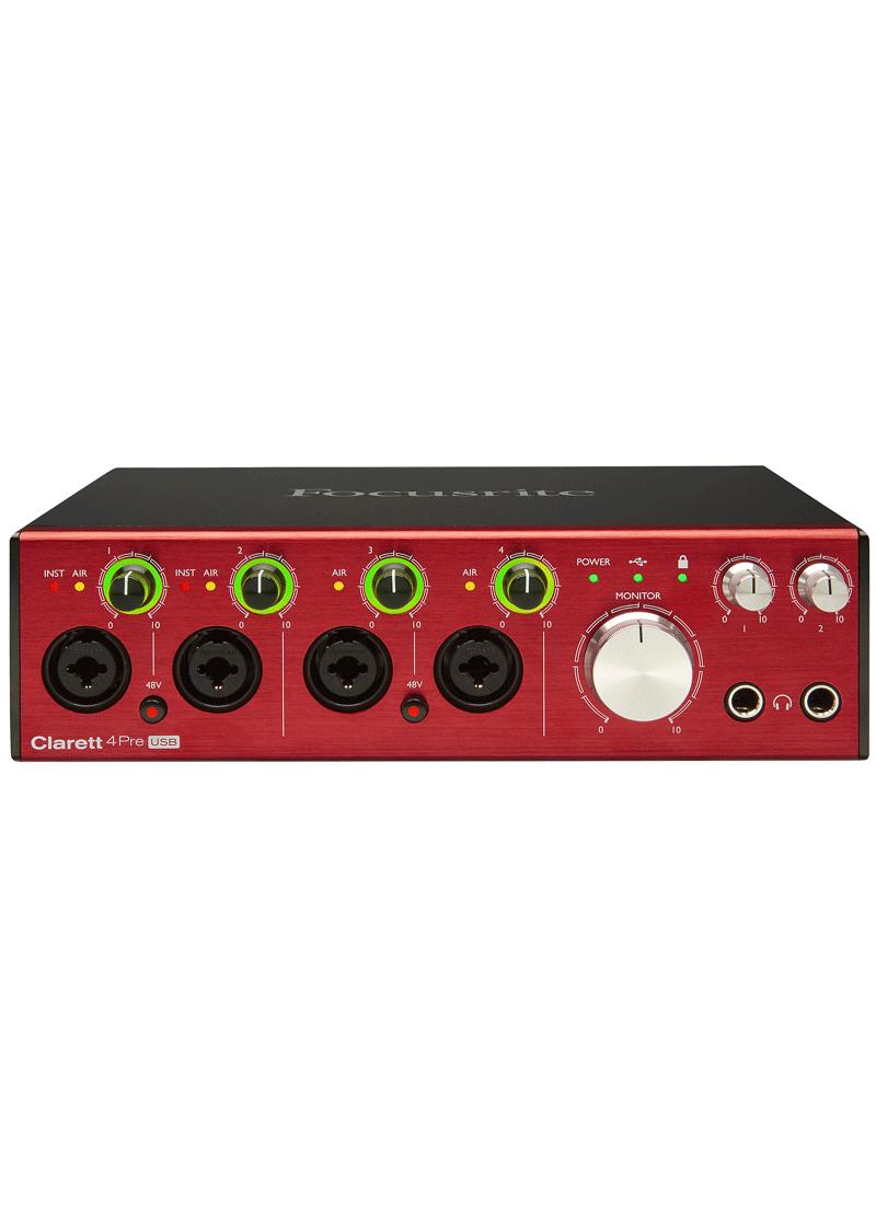 Focusrite Clarett 4Pre USB Audio Interface 4 https://www.musicheadstore.com/wp-content/uploads/2021/03/Focusrite-Clarett-4Pre-USB-Audio-Interface-4.png