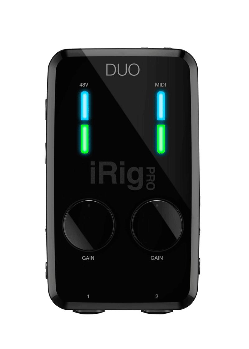 IK Multimedia iRig Pro Duo AudioMIDI Interface 1 https://www.musicheadstore.com/wp-content/uploads/2021/03/IK-Multimedia-iRig-Pro-Duo-AudioMIDI-Interface-1.png