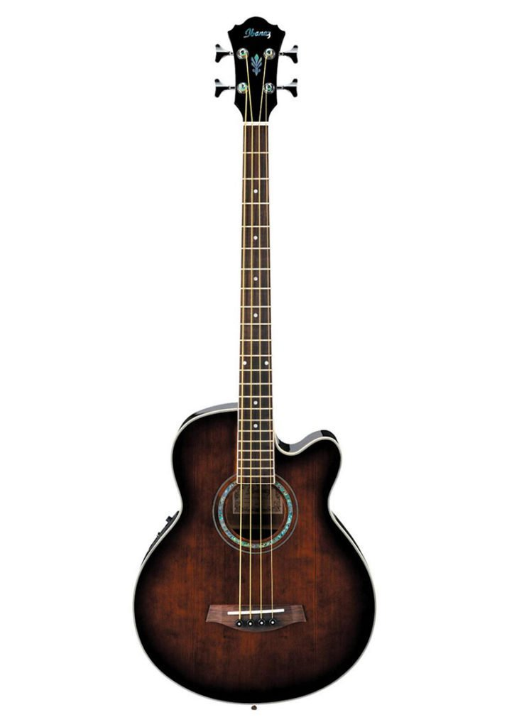 Ibanez AEB10E Acoustic Electric Bass Guitar with Onboard Tuner Dark Violin Sunburst 1 https://www.musicheadstore.com/wp-content/uploads/2021/03/Ibanez-AEB10E-Acoustic-Electric-Bass-Guitar-with-Onboard-Tuner-Dark-Violin-Sunburst-1.jpg