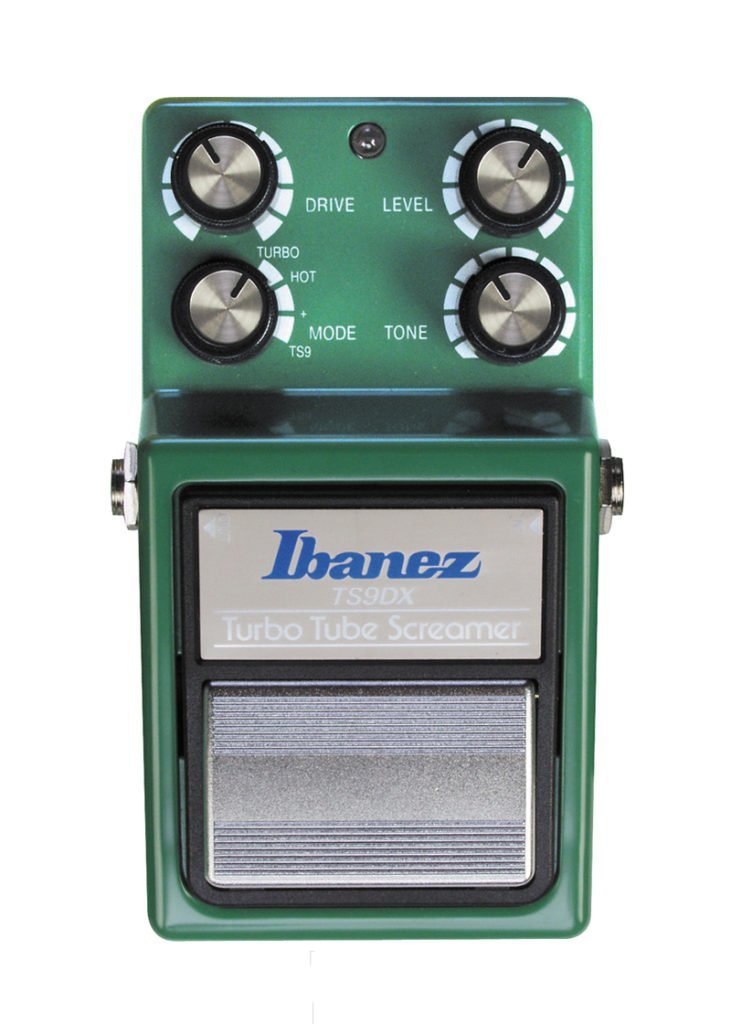 Ibanez TS9DX Turbo Tube Screamer Effects Pedal 2 https://www.musicheadstore.com/wp-content/uploads/2021/03/Ibanez-TS9DX-Turbo-Tube-Screamer-Effects-Pedal-2.jpg