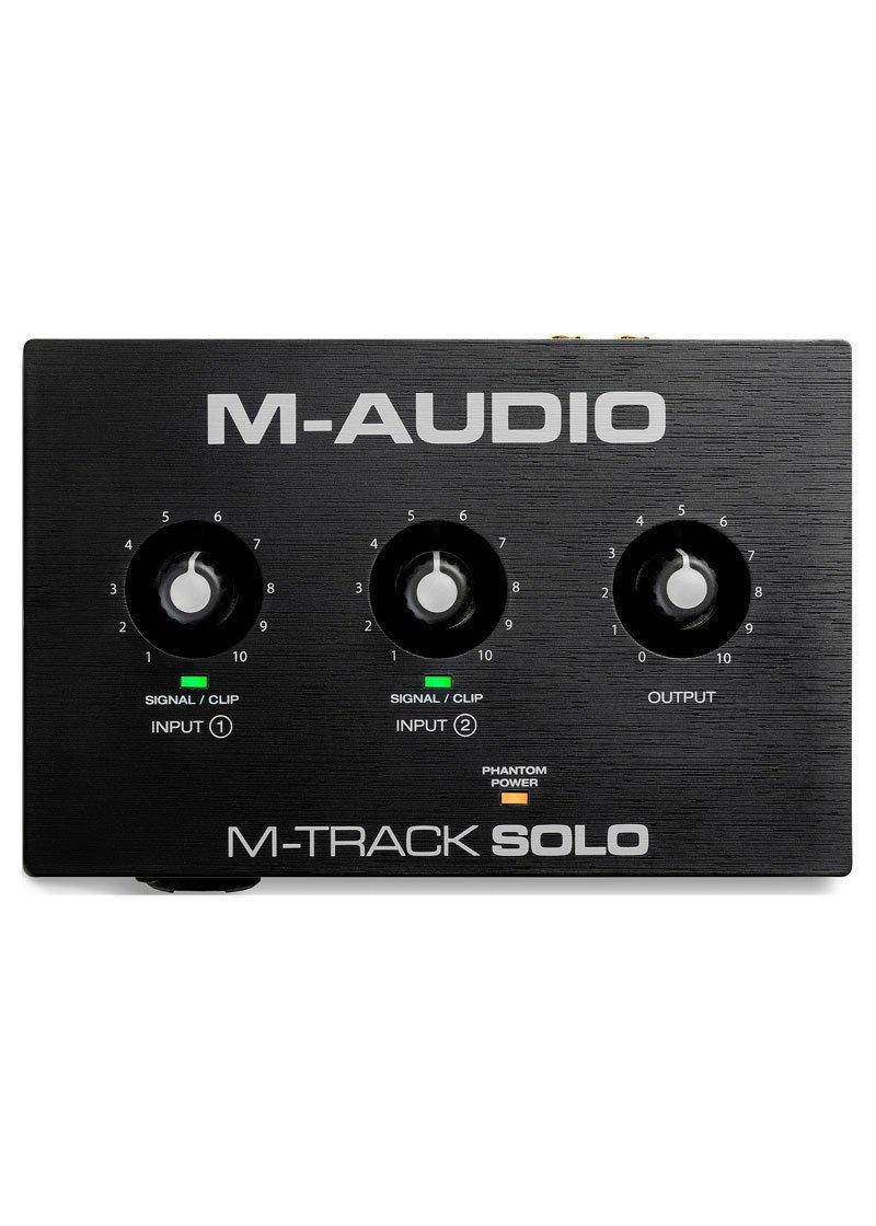 M Audio M Track Solo 2 Channel USB Audio Interface 1 https://www.musicheadstore.com/wp-content/uploads/2021/03/M-Audio-M-Track-Solo-2-Channel-USB-Audio-Interface-1.jpg
