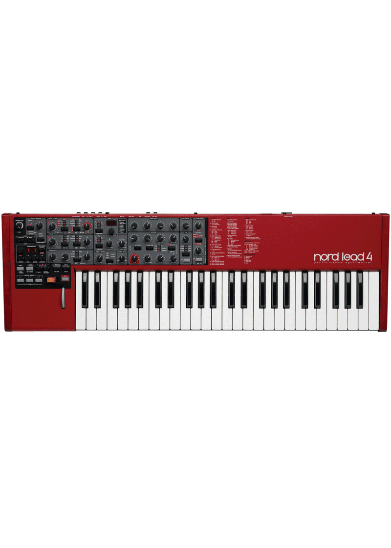 NORD Lead 4 Performance Synthesizer 1 https://www.musicheadstore.com/wp-content/uploads/2021/03/NORD-Lead-4-Performance-Synthesizer-1.png