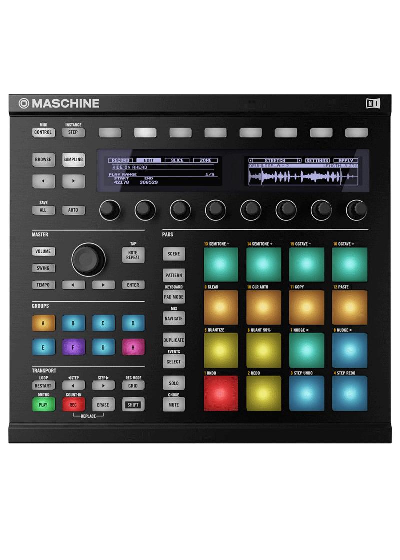 Native Instruments Maschine MK2 1 https://www.musicheadstore.com/wp-content/uploads/2021/03/Native-Instruments-Maschine-MK2-1.png