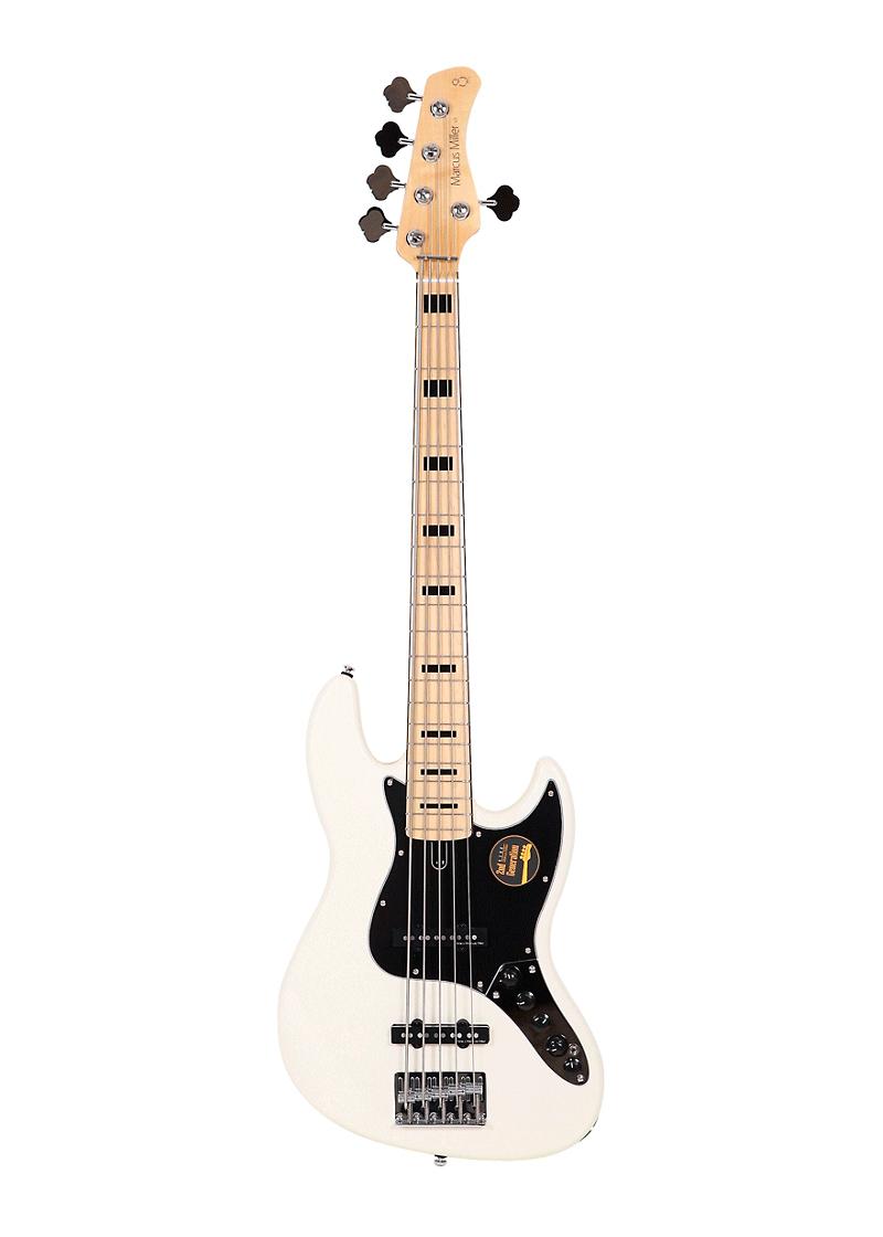 Sire Marcus Miller V7 Vintage Alder 5 String Bass Antique White 2 Gen 1 https://www.musicheadstore.com/wp-content/uploads/2021/03/Sire-Marcus-Miller-V7-Vintage-Alder-5-String-Bass-Antique-White-2-Gen-1.png
