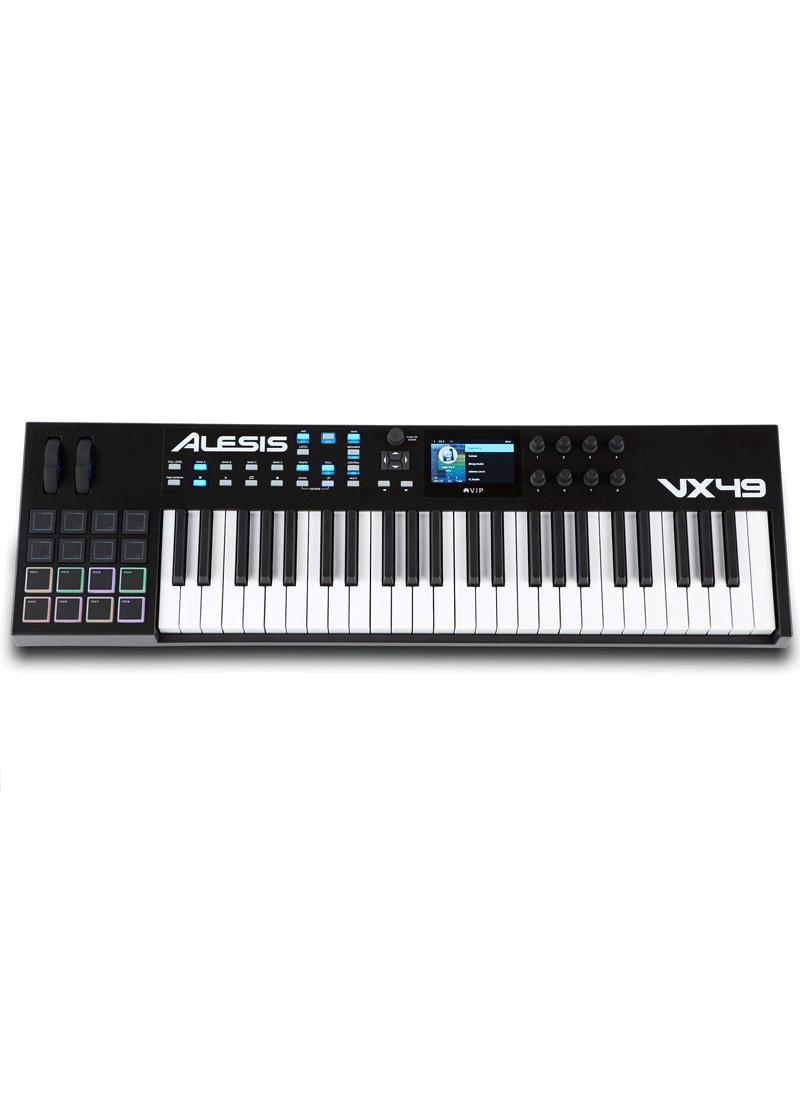 VX49 Keyboard Controller 1 https://www.musicheadstore.com/wp-content/uploads/2021/03/VX49-Keyboard-Controller-1.png