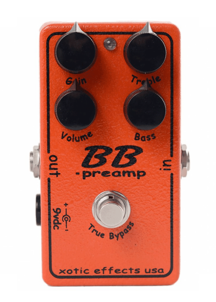 Xotic BB preamp Andy Timmons Effects Pedal 1 https://www.musicheadstore.com/wp-content/uploads/2021/03/Xotic-BB-preamp-Andy-Timmons-Effects-Pedal-1.png