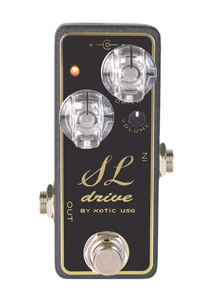 Xotic SL Drive Effects Pedal 1 https://www.musicheadstore.com/wp-content/uploads/2021/03/Xotic-SL-Drive-Effects-Pedal-1.png