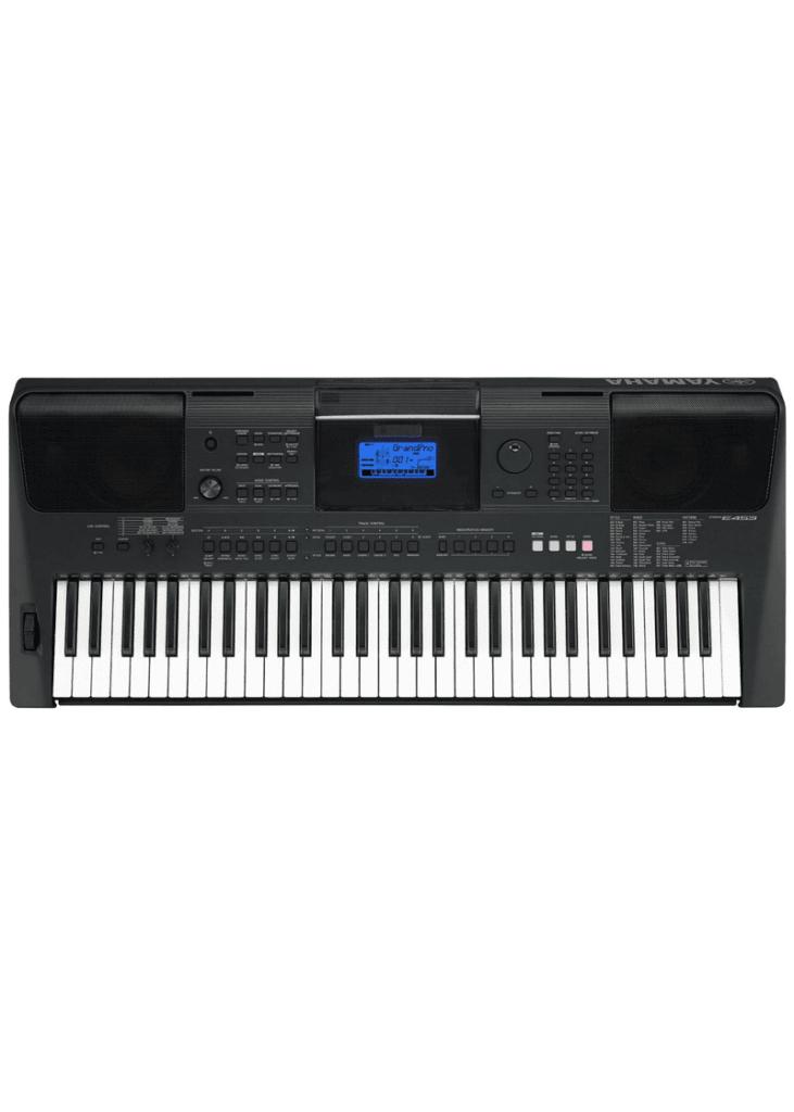 Yamaha PSR E453 61 Key 1 https://www.musicheadstore.com/wp-content/uploads/2021/03/Yamaha-PSR-E453-61-Key-1.png