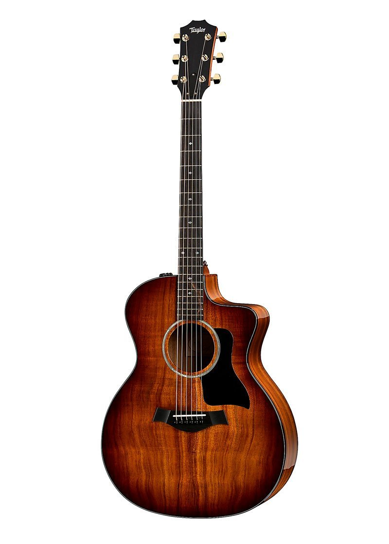 Taylor 224ce K DLX Grand Auditorium Acoustic Electric Guitar Shaded Edge Burst 2